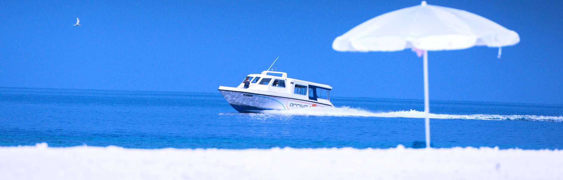 Boat charter, Maldives