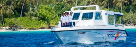 Boat transfers services in the Maldives