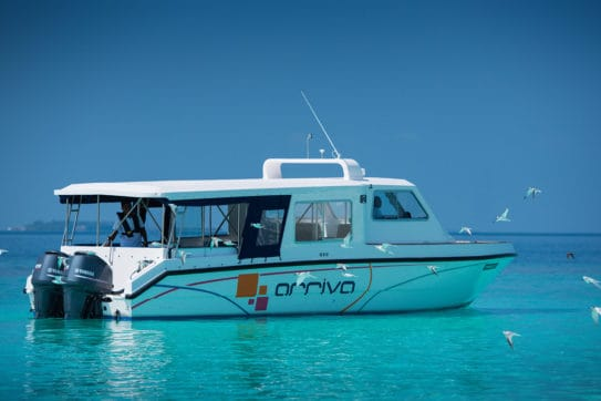 Boat charter services in Maldives